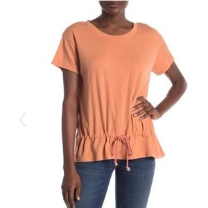 Madewell | Drawstring T-Shirt Antique Coral